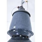 Lampa Elektrosvit industrialna emaliowana, fabryczna, wielka, Czechosłowacja – bauhaus.