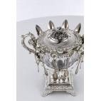 Konfituriera M.Fray, łyżeczki E.Maitreau - szt.12, Francja, srebro, kryształ – Biedermeier