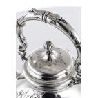 Buliera z podgrzewaczem, srebrna, Francja – neorokoko