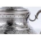 Cukiernica Massat Freres, kryta, srebro, miękko złocona Francja – neobarokowa