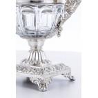 Konfituriera Louis Manant, szkło baccarat (bakardowe), srebro, Paryż – neorokokowa.