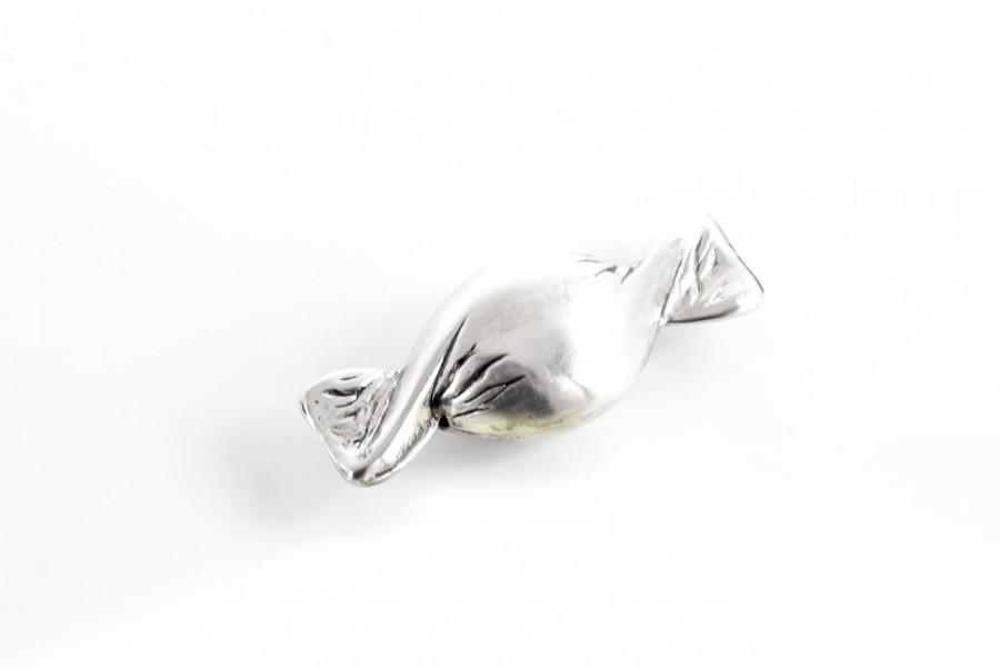 Cukierek miniaturka w srebrze, Włochy – sztuka świata.
