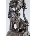 """Patera """"Madonna w Świątyni Dumania"""", 2-poziomowa, srebro, Niemcy – eklektyzm."""