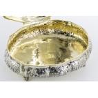 Bomboniera, Wielka Bombetta, Szkatuła Pałacowa, złocona, srebrna, Niemcy – eklektyczna.