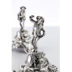 Para zapachowników figuralnych trubadurów, Francja, srebrna – neorokokowa.