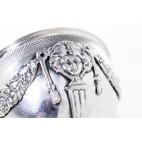 Cukiernica otwarta  filigranowa, meduza, włoska, srebrna – Neo Empire.