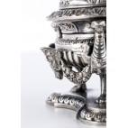 Kałamarz z Faunem Pandiani, ciężki 1,65 kg, srebrny, Mediolan – klasycystyczny.