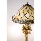 Wiedeńska lampa stojąca  David Hollenbach  – neo empirowa & Biedermeier.