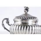Cukiernica kryta, włoska,  srebrna – postmodernistyczna.