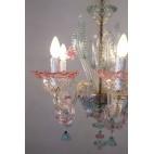 Żyrandol szklany Murano Włochy – sztuka świata.