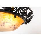 Żyrandol Jean Noverdy, typ Ampla, Francja - secesyjny.