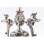 Patera reprezentacyjna, wysoka, srebrna, Francja / Belgia – eklektyczna
