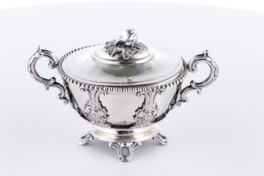 Cukiernica Francois Diosne, srebrna, Paryż – neorokokowa